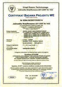 certyfikat badania projektu we 1 215x300 certyfikat badania projektu we 1