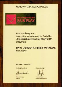 pphu fokus producent kotlow centralnego ogrzewania fair play 2011 nagroda 216x300 pphu fokus producent kotlow centralnego ogrzewania fair play 2011 nagroda