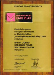 pphu fokus producent kotlow centralnego ogrzewania fair play 2012 nagroda 216x300 pphu fokus producent kotlow centralnego ogrzewania fair play 2012 nagroda