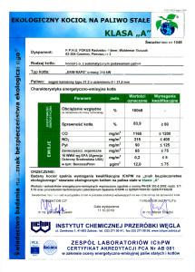 swiadectwo badania na znak bezpieczenstwa ekologicznego 1 215x300 swiadectwo badania na znak bezpieczenstwa ekologicznego 1