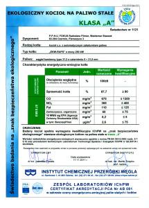 swiadectwo badania na znak bezpieczenstwa ekologicznego 3 215x300 swiadectwo badania na znak bezpieczenstwa ekologicznego 3