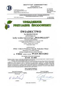 swiadectwo urzadzenie przyjazne srodowisku fokus duo pellet 215x300 swiadectwo urzadzenie przyjazne srodowisku fokus duo pellet