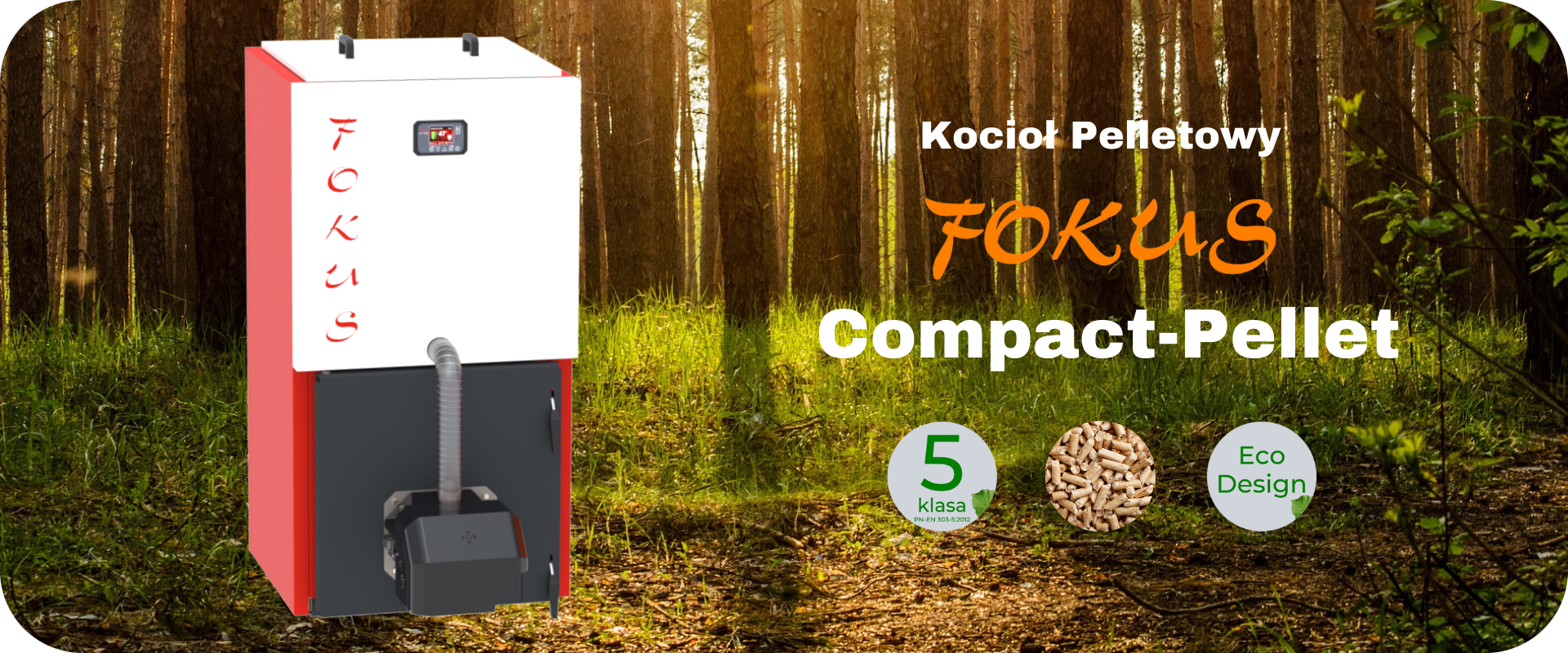 Banner Fokus Compact Pellet Home